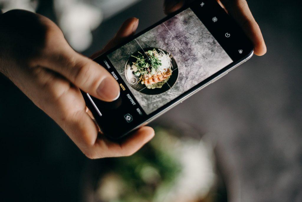 Ta bättre bilder med mobilen - matfoto
