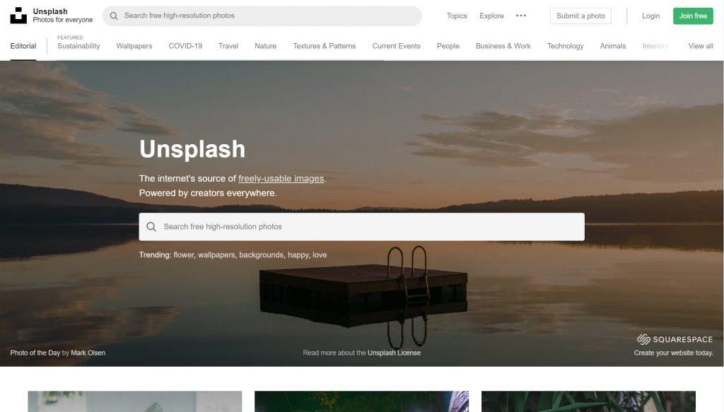Unsplash - gratis bilder med grym kvalitet