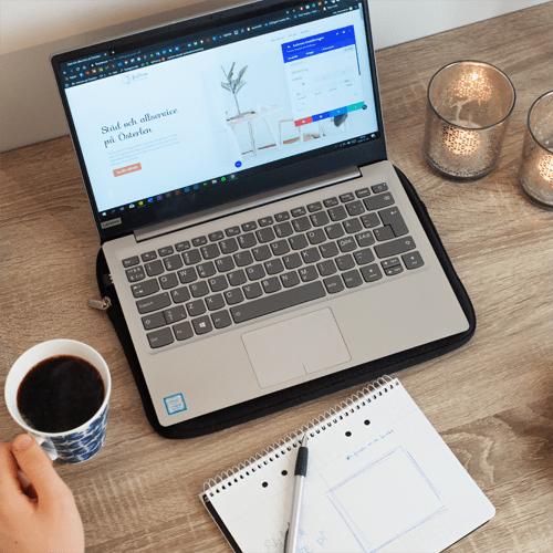 Ny hemsida i Skåne och Luleå