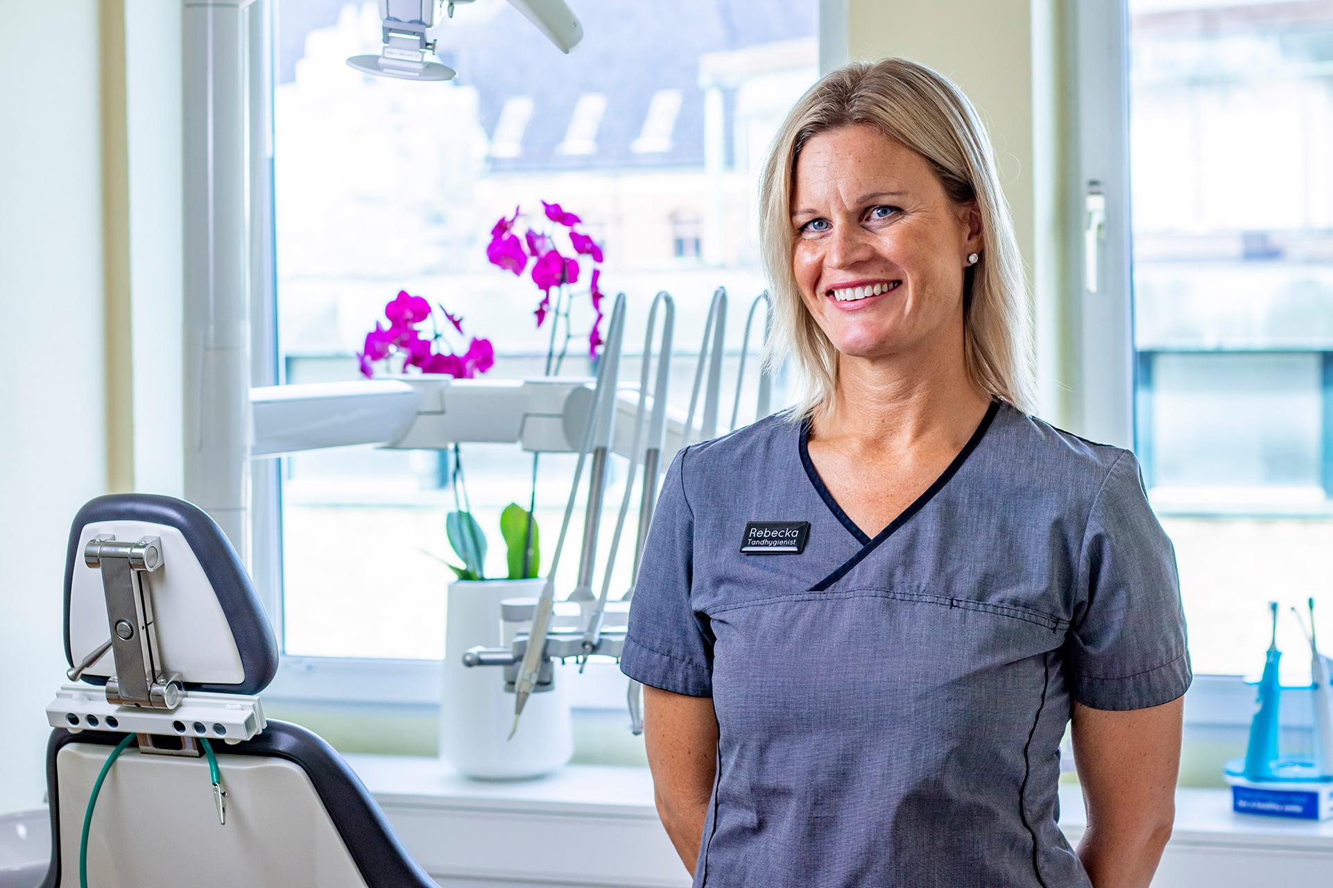 Rebecka Odell - Lundatandvård - personal porträtt